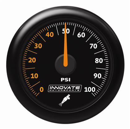 ZEGAR Innovate 52mm Fuel Pressure 6.8 bar MTX-A - GRUBYGARAGE - Sklep Tuningowy